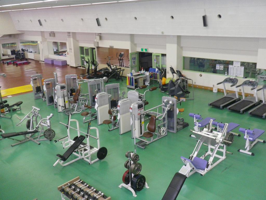 大蔵第二運動場トレーニングルームの画像